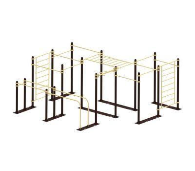 Мобильный комплекс для Воркаут Air-Gym  Стандарт-10, фото 2
