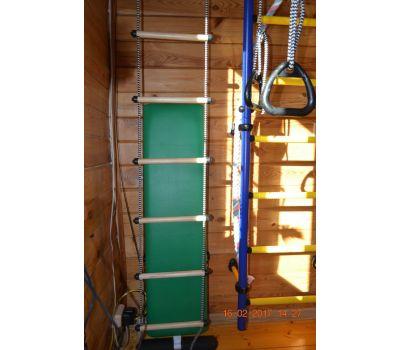 Доска для шведской стенки с валиками под штангу, фото 11