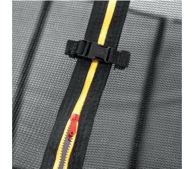 DFC KENGOO Fitness Батут 8ft футов (244 см) внутр.сетка, лестница, оранж/черн, фото 5
