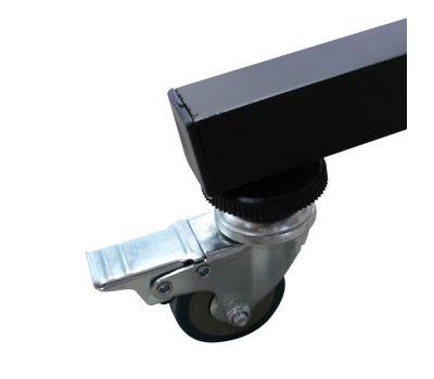 Стол теннисный DONIC TOR-SP 4 мм всеп. синий, фото 5