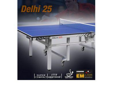 Теннисный стол DONIC DELHI 25 BLUE (без сетки), фото 4