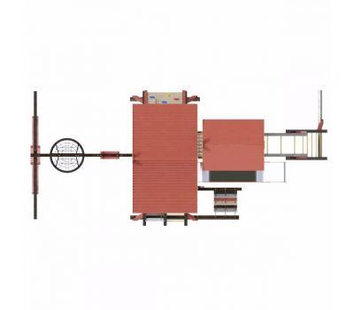 Детская игровая деревянная площадка ХИЖИНА КОРСИКА Самсон, фото 5