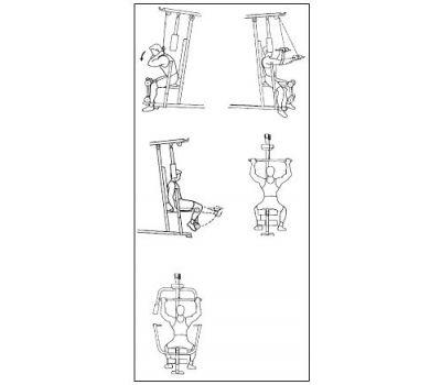Многофункциональный силовой тр-р WEIDER 2980 X, фото 6