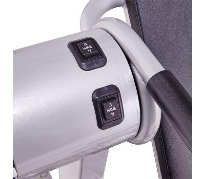 Инверсионный стол Z-UP 2S, 220В, Корея серебряная рама, черная спинка, фото 3