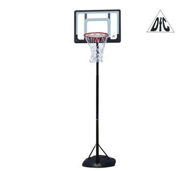 Мобильная баскетбольная стойка DFC KIDS4 80x58cm (полиэтилен), фото 1