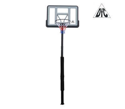Баскетбольная стационарная стойка DFC ING44P3 112x75cm акрил раздвиж. рег-ка (три короба), фото 2