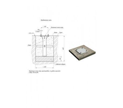 Трехсекционный комплекс шведская стенка + турник разноуровневый YSK27, фото 3