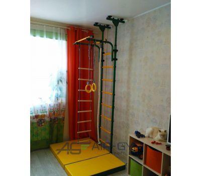 ДСК «ЮНЫЙ АТЛЕТ» модель «Пол-потолок» зелёно/жёлтый, фото 7