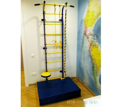 Спортивный комплекс Пионер С1Н зелено/жёлтый, фото 9