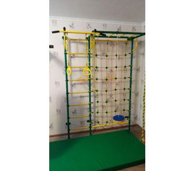 Детская шведская стенка Пионер С4СМ зелёно/жёлтый, фото 10
