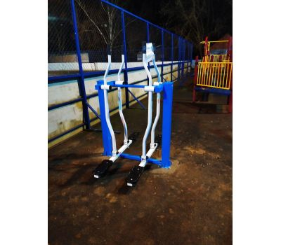 Тренажер уличный Лыжники  Air-Gym YT20, фото 5