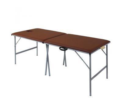Складной металлический массажный стол М195, фото 1
