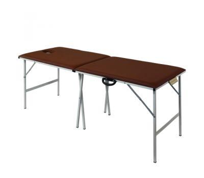 Складной металлический массажный стол М190, фото 1