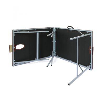 Складной металлический массажный стол М195, фото 3