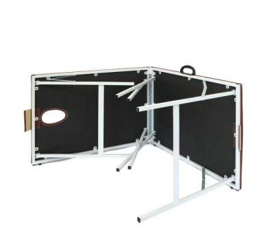 Складной металлический массажный стол М190, фото 3