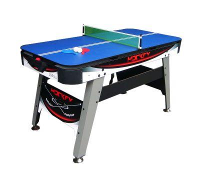 Игровой стол DFC Columbus аэрохоккей/теннис 2 в 1, фото 2