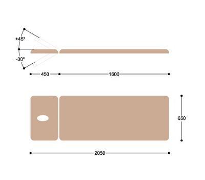 Массажный стол c электроприводом Heliox X122, фото 4