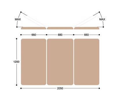 Широкий массажный стол Титулус 3 секции - Стол Войта-Бобата Heliox XV3, фото 5