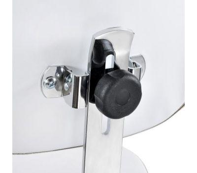 Стул мастера со спинкой и кольцом ХРОМ Heliox ch4, фото 3