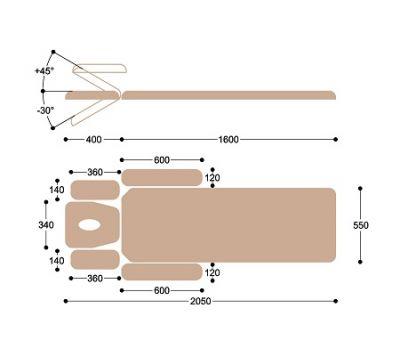 Массажный стол Heliox FM2, фото 6