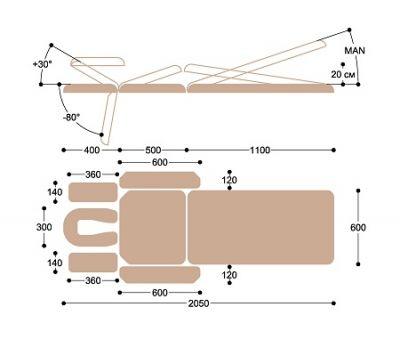 Массажный стол с электроприводом Heliox X103, фото 5