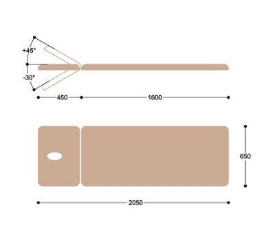 Массажный стол с электроприводом Heliox F1E22, фото 6