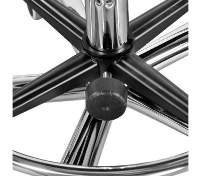 Стул мастера со спинкой и кольцом ХРОМ Heliox ch4, фото 2