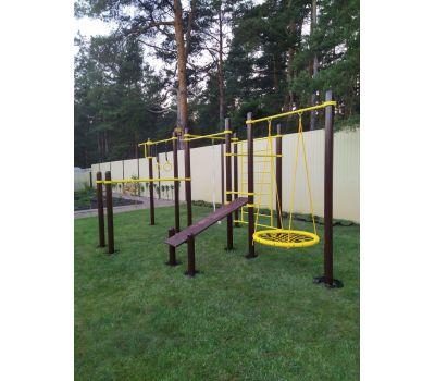 Спортивный комплекс для подготовки к сдаче норм ГТО 3 Air-Gym YSK82, фото 17