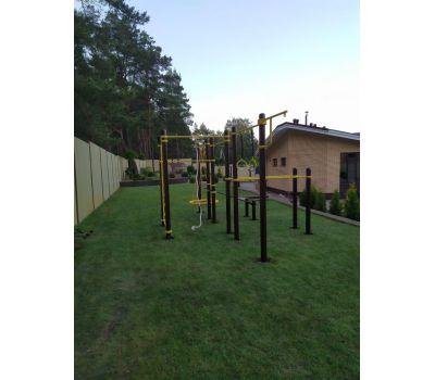 Спортивный комплекс для подготовки к сдаче норм ГТО 3 Air-Gym YSK82, фото 18