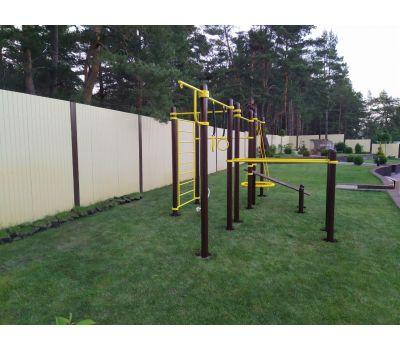 Спортивный комплекс для подготовки к сдаче норм ГТО 3 Air-Gym YSK82, фото 12