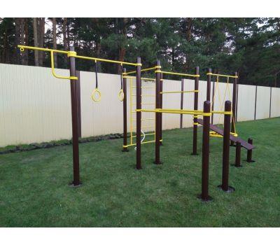 Спортивный комплекс для подготовки к сдаче норм ГТО 3 Air-Gym YSK82, фото 13
