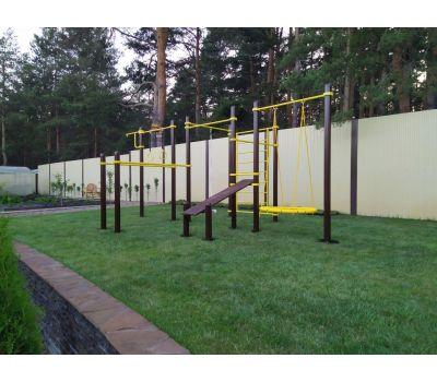 Спортивный комплекс для подготовки к сдаче норм ГТО 3 Air-Gym YSK82, фото 14