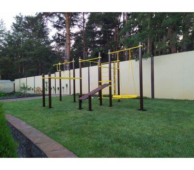 Спортивный комплекс для подготовки к сдаче норм ГТО 3 Air-Gym YSK82, фото 15
