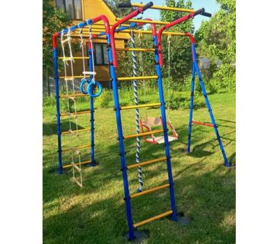 Детский спортивный комплекс ЮНЫЙ АТЛЕТ модель Уличный, фото 3