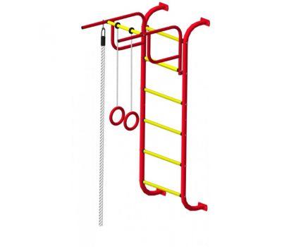 Детский спортивный комплекс Пионер 7 красно/жёлтый, фото 3