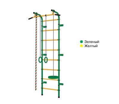 Спортивный комплекс Пионер С1Н зелено/жёлтый, фото 2