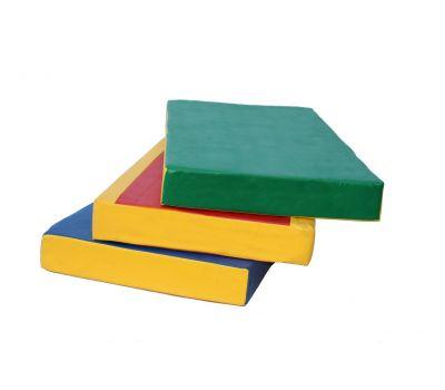 Мат № 1 (100 х 50 х 10) зелёно/жёлтый, фото 7