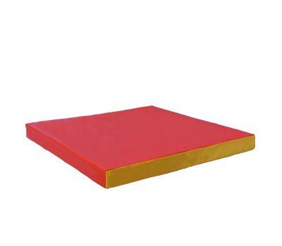 Мат № 2 (100 х 100 х 10) красно/жёлтый