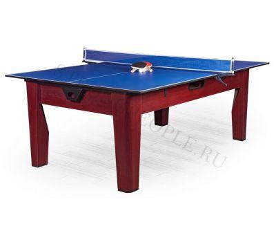 Многофункциональный игровой стол 6 в 1 Tornado (213 х 122 х 82 см; коричневый), фото 16