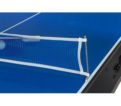 Cтол-трансформер Twister 3 в 1 (3 игры: бильярд, аэрохоккей, настольный теннис; 217 х 107,5 х 81 см; черный), фото 12