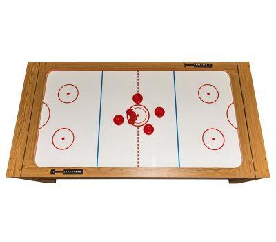 Cтол-трансформер Twister 3 в 1 (3 игры: бильярд, аэрохоккей, настольный теннис; 217 х 107,5 х 81 см; дуб), фото 10