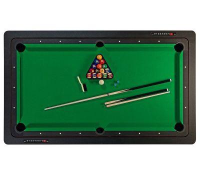 Многофункциональный игровой стол 6 в 1 Tornado (213 х 122 х 82 см; черный), фото 2