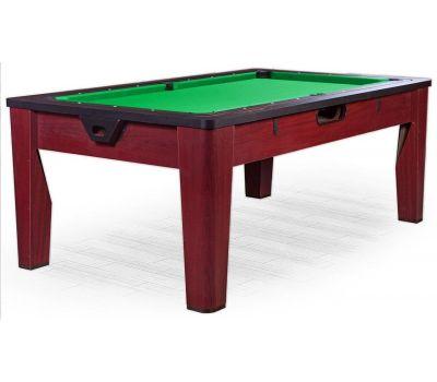 Многофункциональный игровой стол 6 в 1 Tornado (213 х 122 х 82 см; коричневый), фото 1