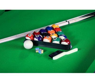 Многофункциональный игровой стол 6 в 1 Tornado (213 х 122 х 82 см; черный), фото 3