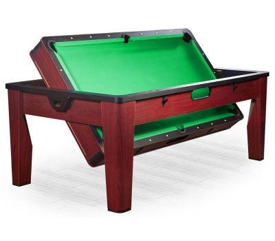 Многофункциональный игровой стол 6 в 1 Tornado (213 х 122 х 82 см; коричневый), фото 4