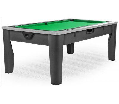 Многофункциональный игровой стол 6 в 1 «Tornado» (213 х 122 х 82 см; черный)