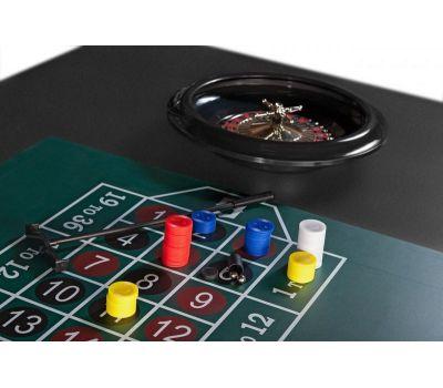 Многофункциональный игровой стол 6 в 1 Tornado (213 х 122 х 82 см; черный), фото 19