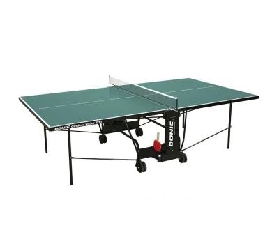 Теннисный стол OUTDOOR ROLLER 600 зеленый, фото 1