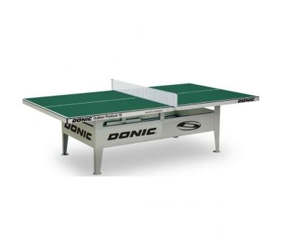 Теннисный стол антивандальный OUTDOOR Premium 10 зеленый, фото 1