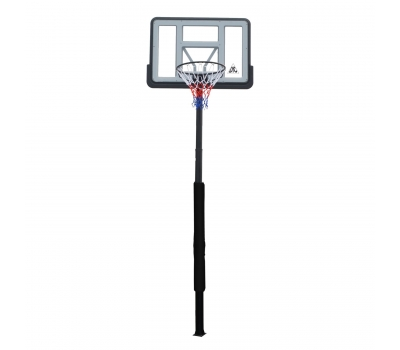 Баскетбольная стационарная стойка DFC ING44P3 112x75cm акрил раздвиж. рег-ка (три короба), фото 1
